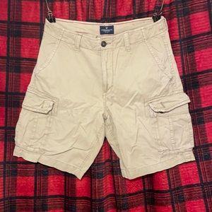 American eagle cargo shorts 34